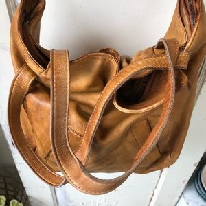 Free People Bags - Free People Hobo Bag Cow Leather